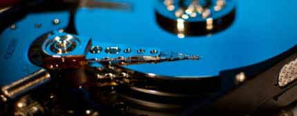 We help you recover your lost hard drive data