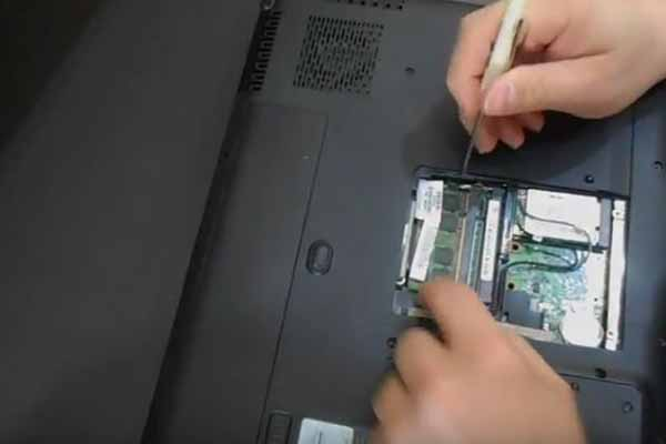 How to replace wireless (wifi) card on Hewlett Packard HP